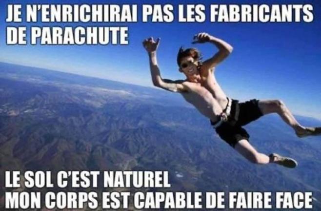 Ni vaccin ni parachute ?
